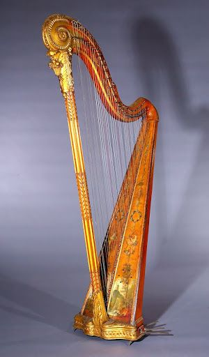 Single-action Harp c. 1797 | National Music Museum, University of South Dakota: