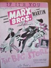 If It's You - The Marx Brothers