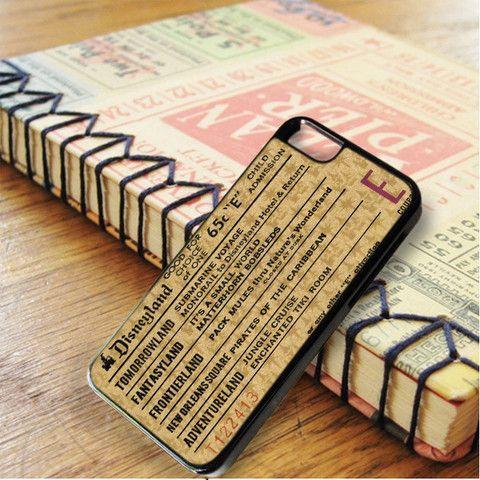 Disneyland E Ticket Brown iPhone 6|iPhone 6S Case