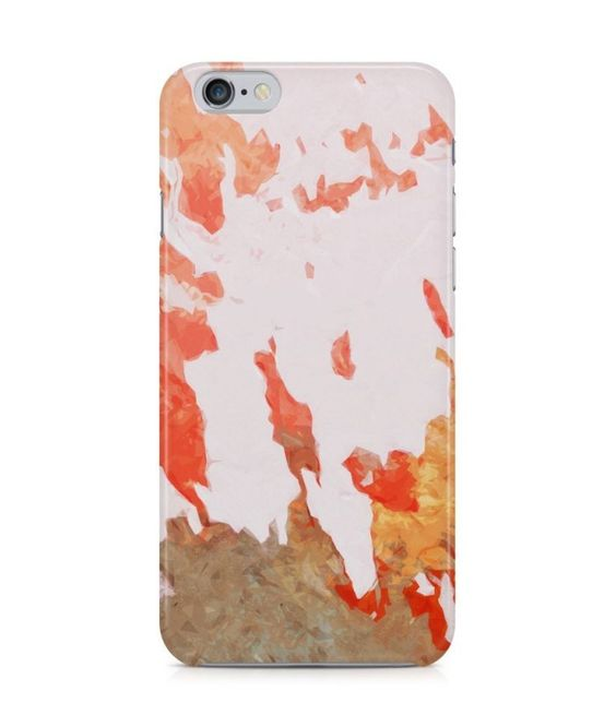 Cool Red and Brown Abstract Picture 3D Iphone Case for Iphone 3G/4/4g/4s/5/5s/6/6s/6s Plus - ARTXTR0139 - FavCases