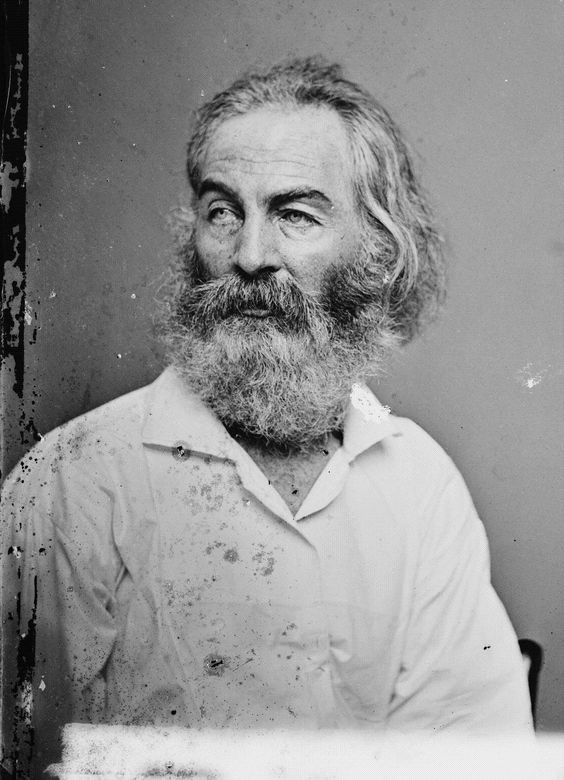 Matthew Brady (1822-1896) famous photographer from the civil war.  This is a photo of Walt Whitman.