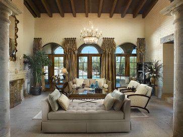 Dreambridge Design, LLC. traditional living room
