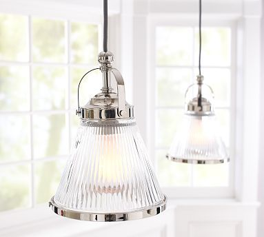 Lighting for dining room track and glass pendants on for Kitchen island track lighting