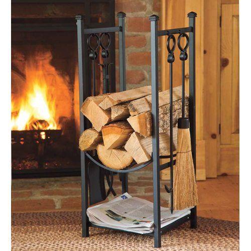 Single Panel Steel Fireplace Screen Fireplace Tool Set Fireplace Tools Wood Rack