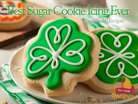Best Sugar Cookie Icing Sugar Cookie Icing And Cookie