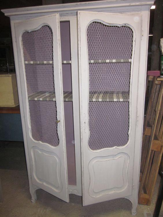 petite armoire transformée