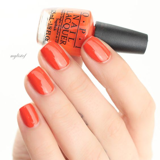 OPI Atomic Orange