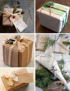 OCELLS AL TERRAT: Temps de Nadal: idees originals per embolicar rega...