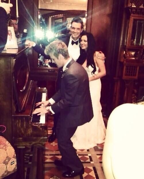 Playing A Song For Angel At Her Wedding