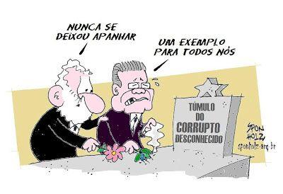 Sponholz: O túmulo do corrupto desconhecido.