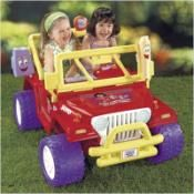Fisher-Price Power Wheels Dora the Explorer Jeep Wrangler Electric Ride On