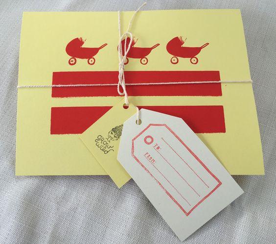 dc flag baby shower gift
