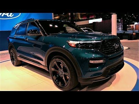 New 2020 Ford Explorer St 3 0l V6 400hp Suv Exterior And