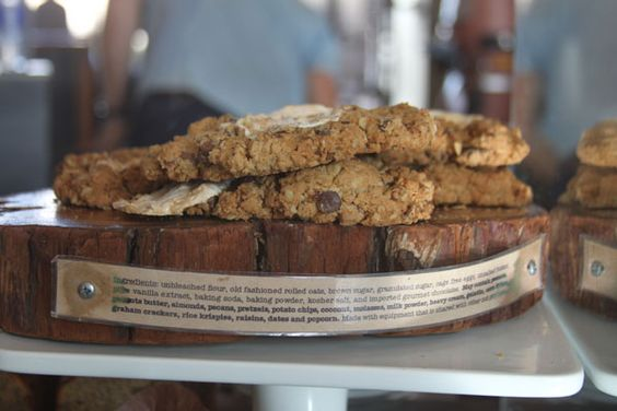 luscious chewy cookie from verve coffee roasters