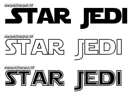 FONT OUR EYES STARS FROM DOWNLOAD