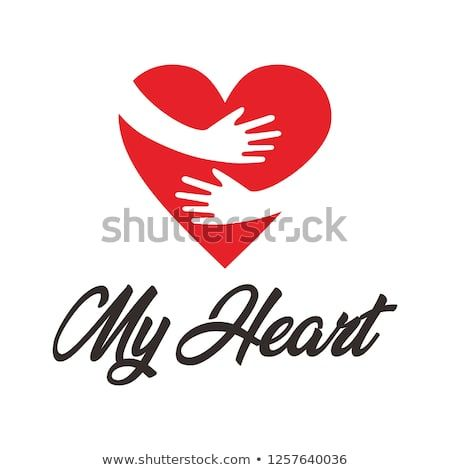 My Heart Logo Design Inspiration Hug And Love Design Template