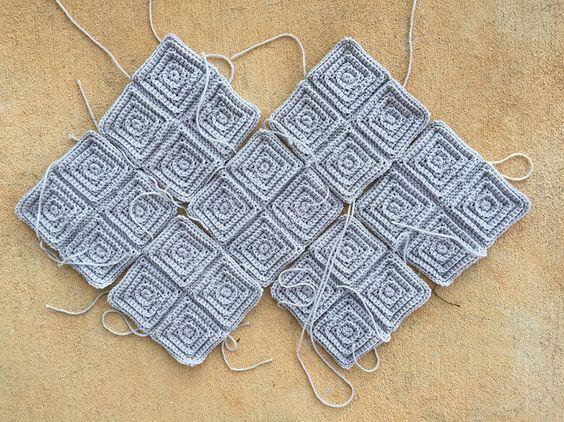 textured crochet squares, crochetbug, textured crochet blanket, textured crochet afghan, textured crochet throw
