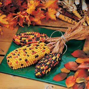 faux indian corn (cake)