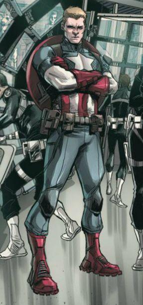 Captain America - AVENGERS WORLD (2014) #10
