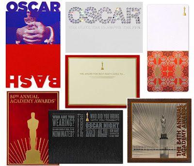Oscar Party Invites