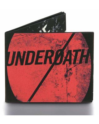 Underoath Mighty Wallet $15