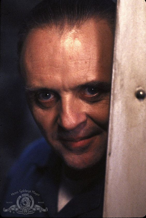 "Anthony Hopkins en ""El Silencio de los Corderos"" (The Silence of the Lambs), 1991"