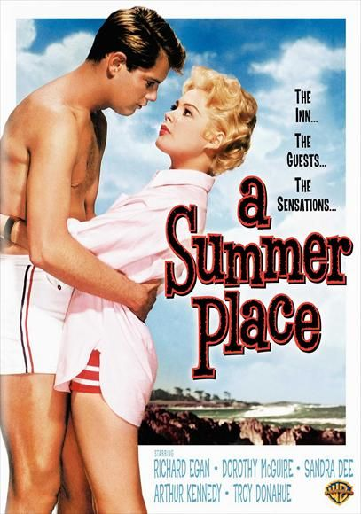 A Summer Place - 1959 film that crossed into the early 60s and reflected the changes teen girls were exploring in that era. The girl tries to resist her boyfriend, but as you can see from the poster she has a lot of pressure to have sex.: