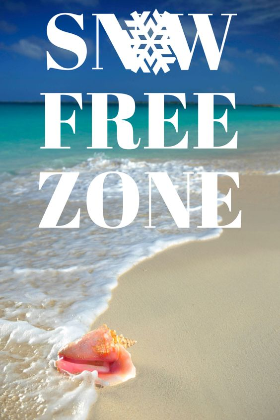 The bahamas is a snow free zone come escape winter with for Winter vacations in florida