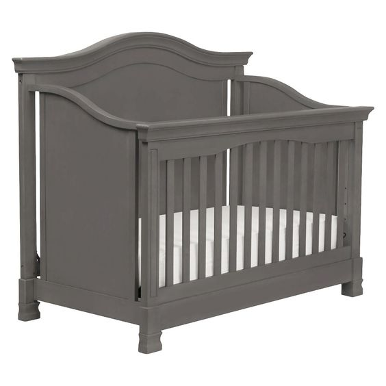 Million Dollar Baby Classic Louis 4-in-1 Convertible Crib with Toddler Rail