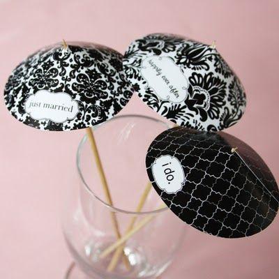 printable cocktail umbrellas. party idea