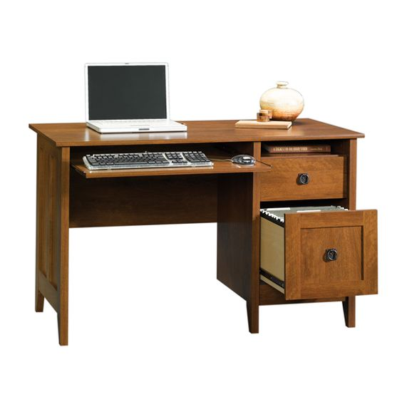 Sauder August Hill Computer Desk - 409748 - Free Shipping