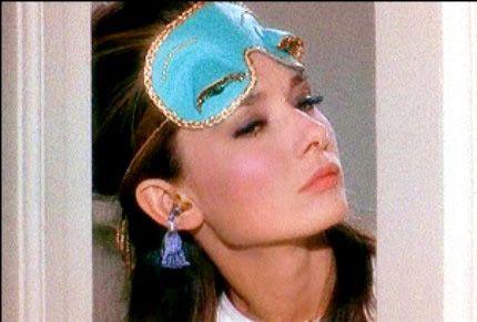 We love Audrey's eyemask!