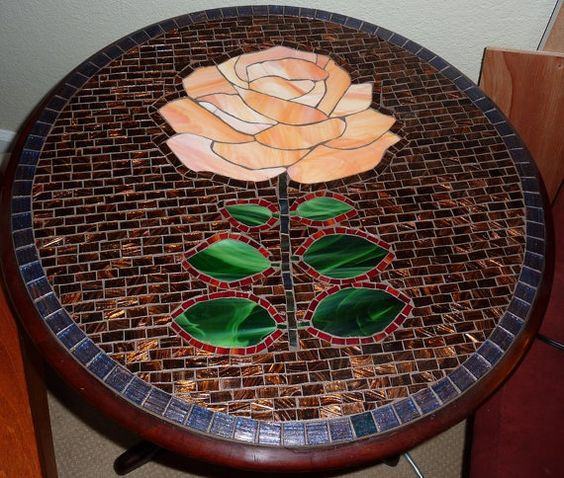 1000 Ideas About Mosaic Tile Table On Pinterest: Mosaics, Roses And Tables On Pinterest