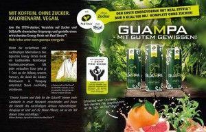 Join the STEVI-olution! GUAMPA Refreshing Energy Drink – Der erste Energy Drink mit Real Stevia™ aus Paraguay und mit Pink Grapefruit! Wir verzichten auf Zucker und Süßstoffe chemischen Ursprungs! Am besten eiskalt genießen und auf ein erfrischend neues Geschmackserlebnis einstellen.
