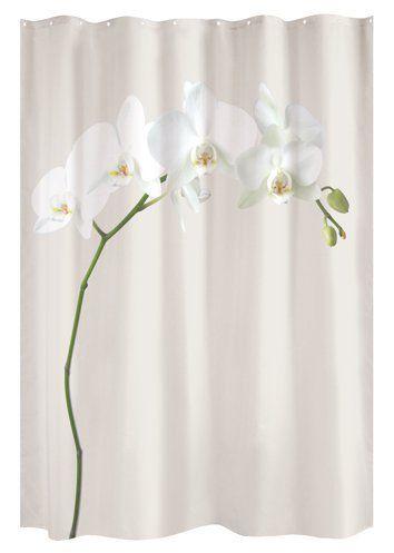 Unique Shower Curtain Orchid