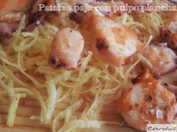 Carolus Cocina: Como hacer patatas paja