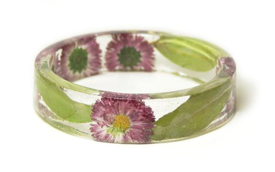 Real Flower Jewelry Flower Jewelry Jewelry by ModernFlowerChild