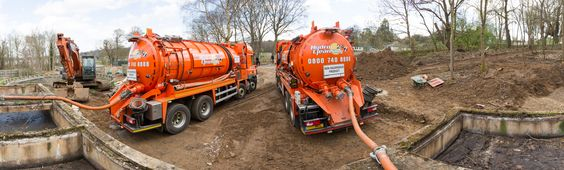 Our tankers removing Wet waste