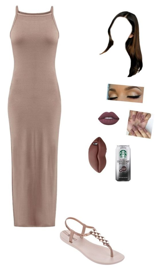 """Untitled #181"" by trilliestbitch ❤ liked on Polyvore featuring IPANEMA, Lime Crime and STELLA McCARTNEY"