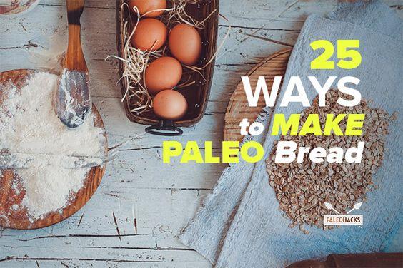 25 Grain-Free and Wheat-Free Paleo Bread Recipes