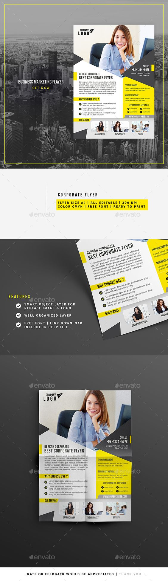 business marketing flyer flyer template business marketing and business marketing flyer template psd design graphicriver net