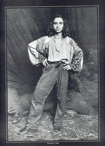 A Gypsy boy, Romania, 1968.