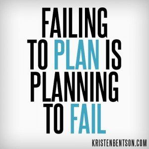Failing to Plan is Planning to Fail | YouAnew Lifestyle Nutrition: