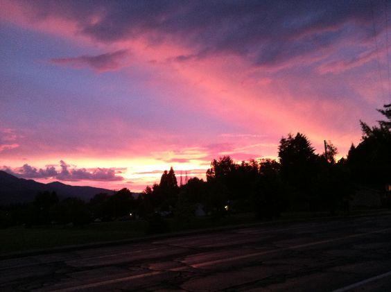 Mt Shasta sunset!