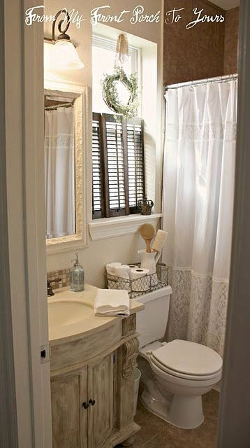 Small Bathroom Window Ideas Lovely Love The Shutter For Privacy Vs Blinds Or Curtain In 2020 Bathroom Window Curtains Small Bathroom Window Bathroom Window Treatments