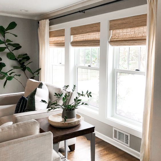 It's no secret, I'm a huge fan of wood woven shades! They add so much warmth to a space and offer privacy! It's also no secret, Select Blinds is one of my favorite companies I've ever worth with. Last year we added wood woven shades from Select Blinds to all the windows we had replaced... Continue Reading The post New Windows = New Wood Woven Shades! appeared first on Mindfully Gray.