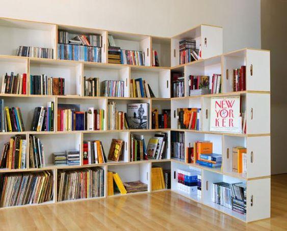 BrickBox stackable shelf system