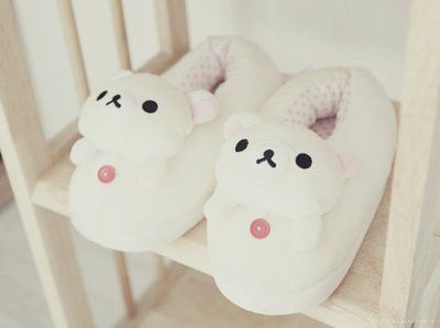 Rilakkuma slippers. Serious need. By Sithis, So much need~~~