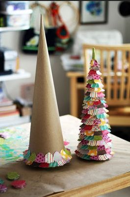 Weihnachtsdeko mit kindern basteln bastelideen pinterest topiaries gold christmas tree - Weihnachtsdeko mit kindern basteln ...