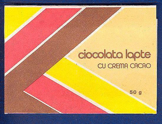Romanian chocolate.